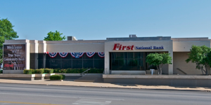 picture of the main weatherford branch of the bank
